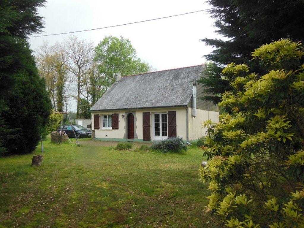 Secteur Plélan-le-petit: Jolie maison de plain pied dans cadre paisible et boisé
