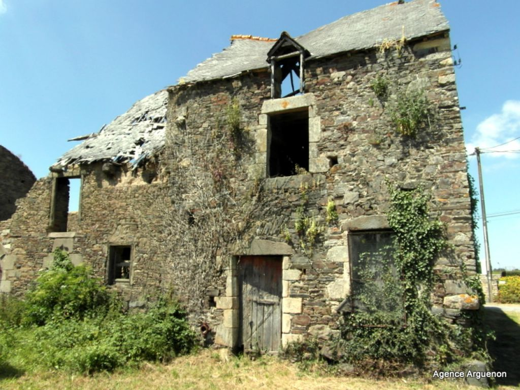 Between StMalo and Rennes: stone house to renovate