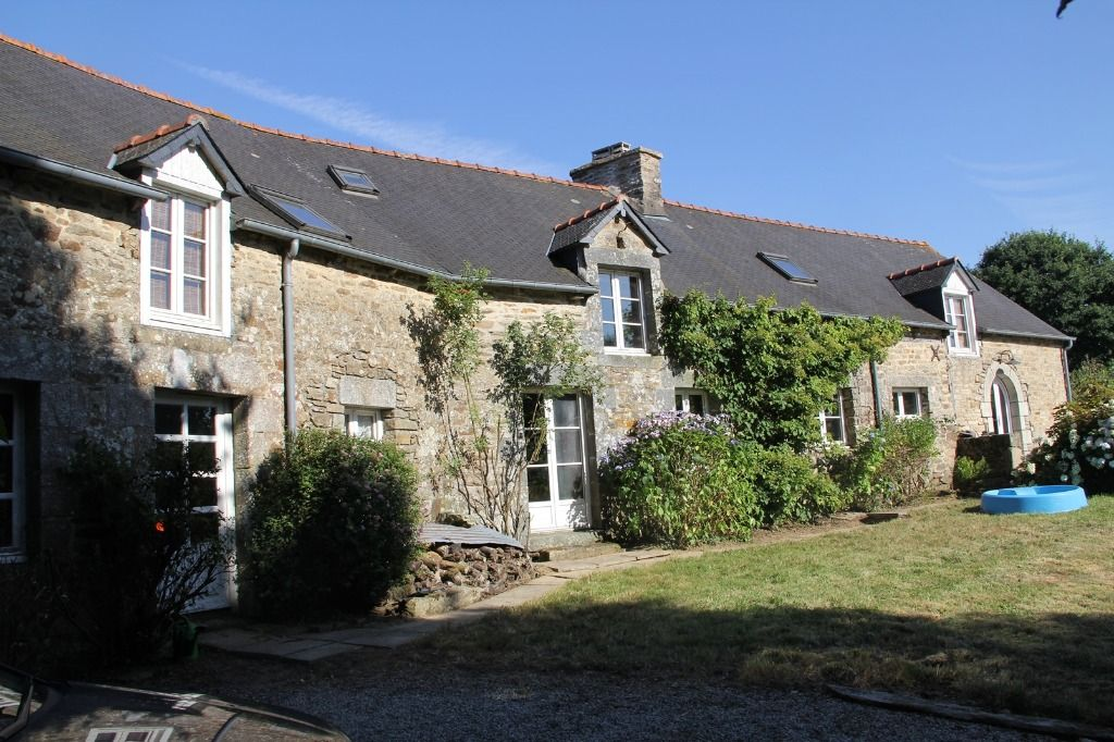 UNDER-OFFER Refurbished stone built country house with magnificent valley outlook
