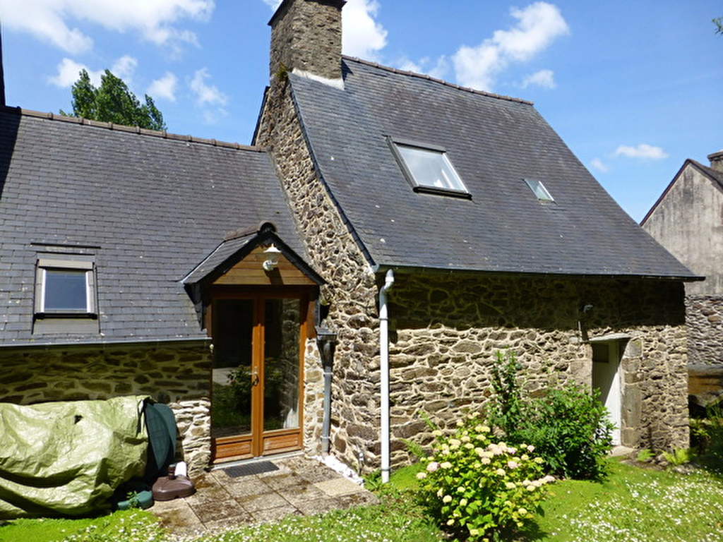 Charming house and garden by the river Rance within a character village