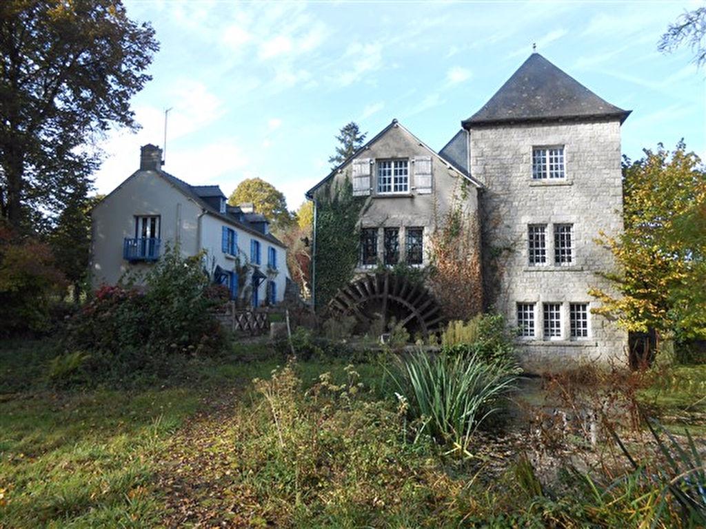 Propriété rare sur les bords de Rance: ancien moulin sur 4.5 hectares