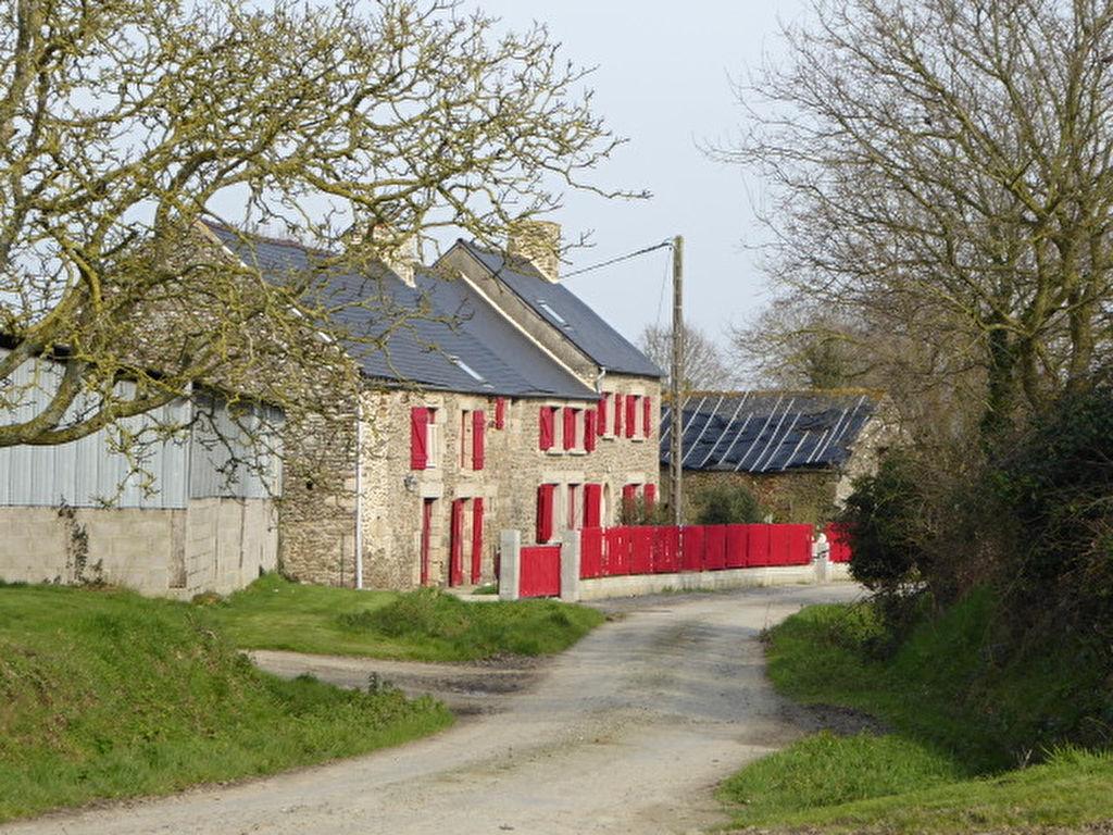 St Méloir des Bois, Belle longère rénovée de 250m², 6 chambres + joli gite pour revenu locatif