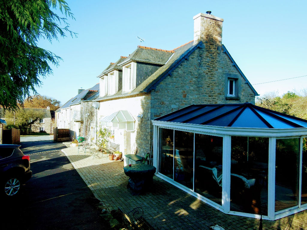 CLOSE TO DINAN Beautifully restored 5 bed stone house plus second 3 bed house - great location