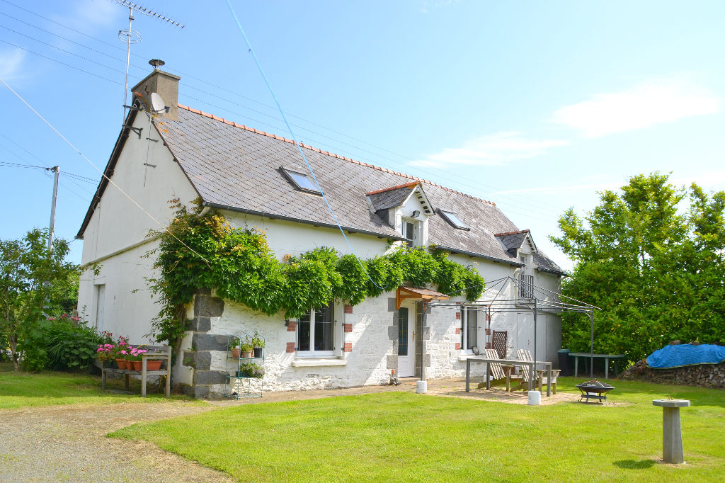 Three bedroom stone longère in Langourla