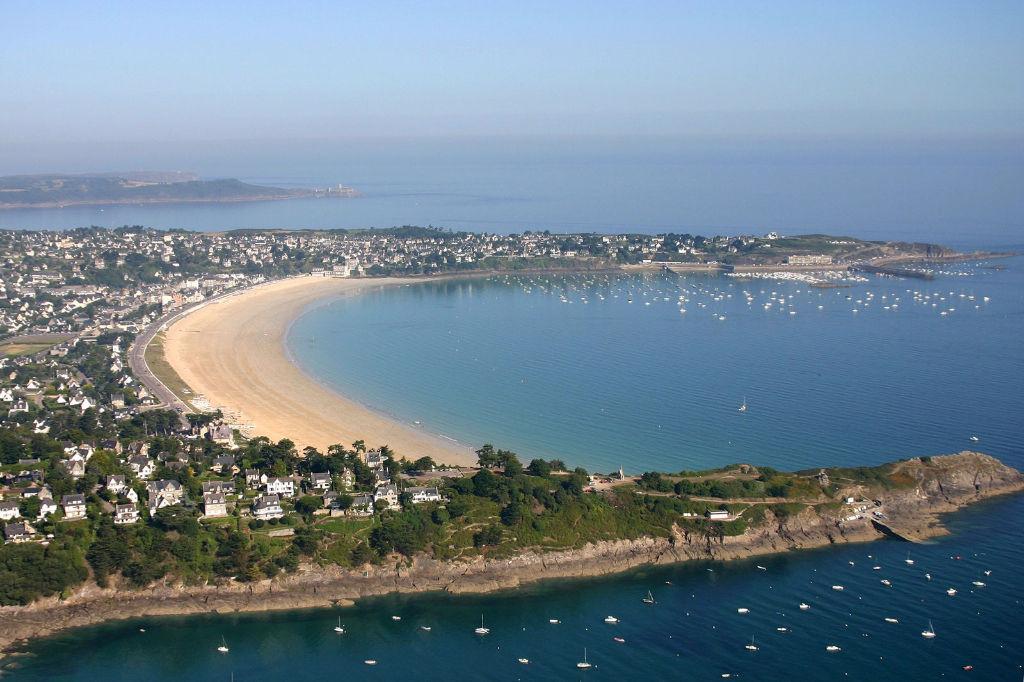 Vue mer magnifique - maison Saint Cast