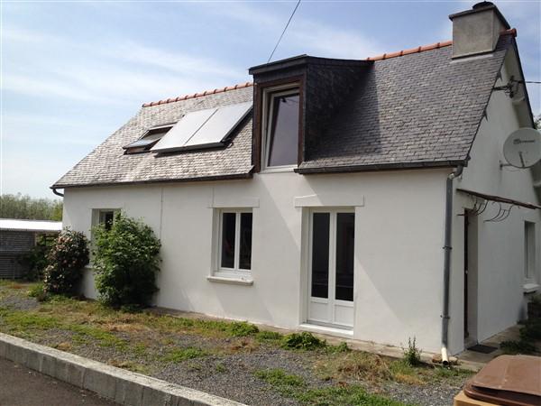 10 mns Lamballe, maison indépendante sur 1600 m2 de terrain