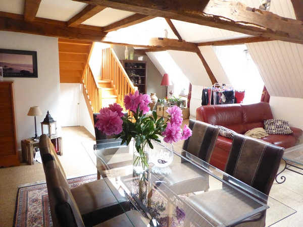 Dinan: Character apartment at the heart of the Historic town