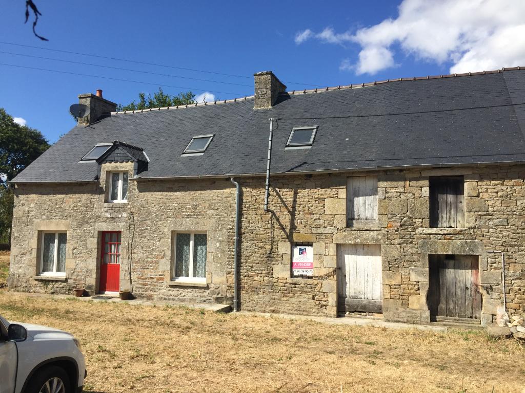 Trebedan, maison de hameau en pierre