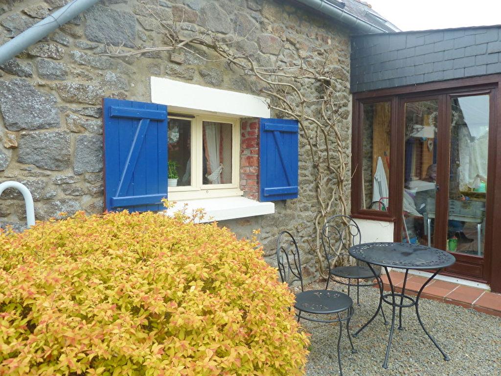EXCLUSIVITE - Accès rapide axe Saint Malo /Rennes : Jolie maison  en pierre