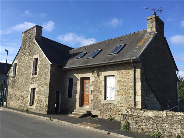 LAmballe area, Stone village property