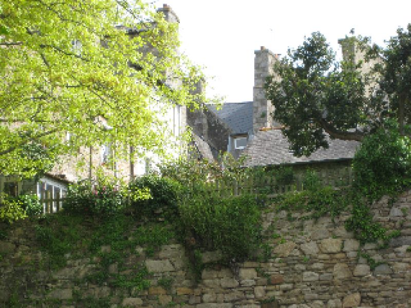 Dinan : studio flat with view of the ramparts and green views