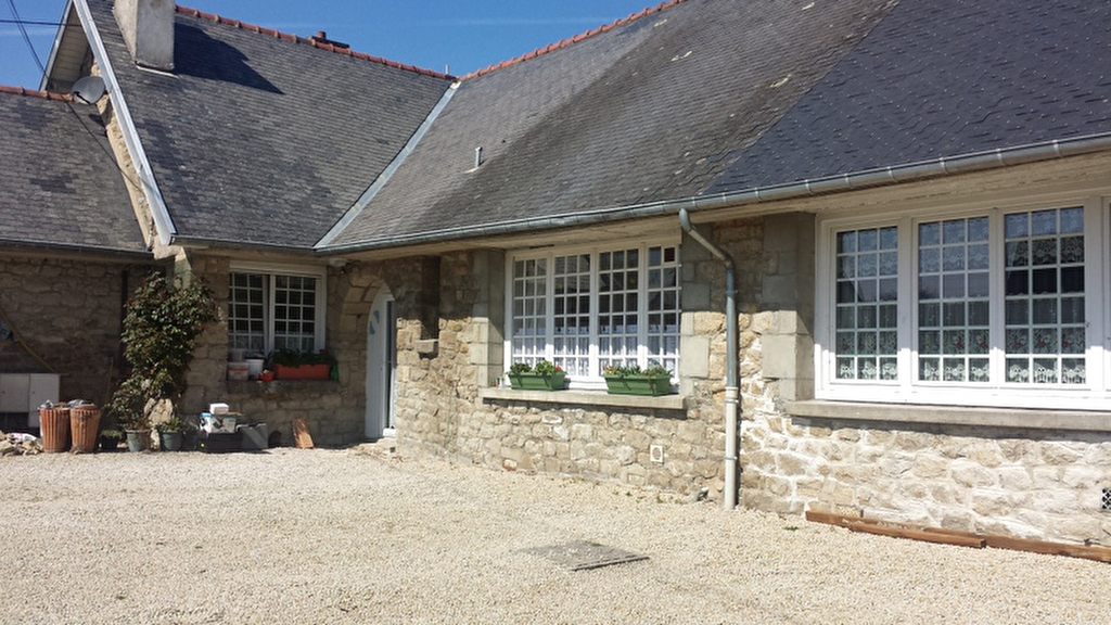 SOUS-OFFRE 10mn Dinan: maisonnette plain pied, jardin, garage, proche commerces