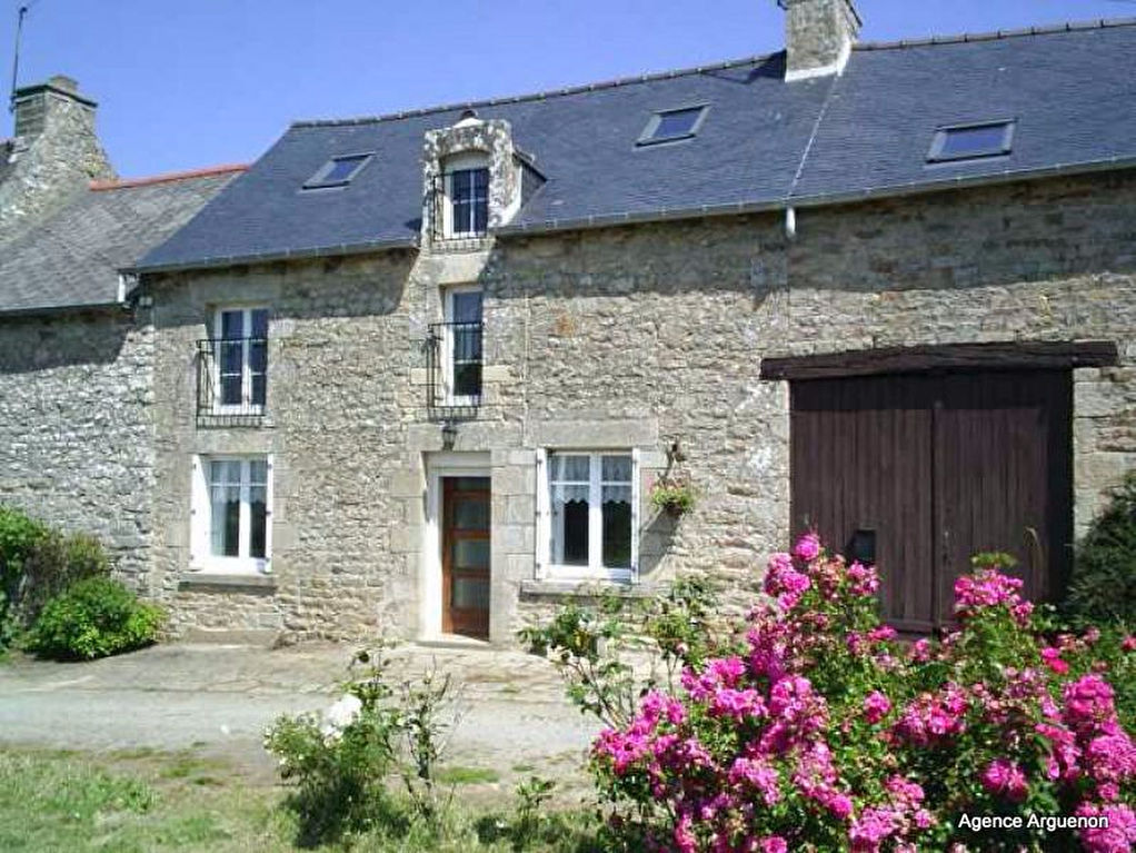 Secteur Plelan: cadre paisible, joli cottage avec jardin et grange