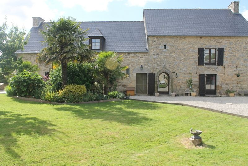 A substantial stone property close to the historic town of Dinan